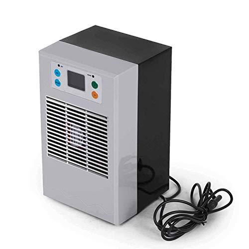 FlowerW, luchtkoeler, waterkoeler, mobiele airconditioning, aquarium, koeler voor kantoor, hotel, garage, 70 W, 20 liter.