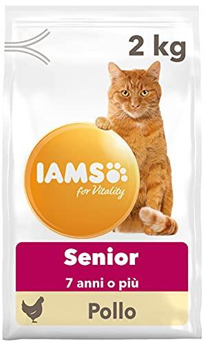 IAMS for Vitality Cibo Secco con Pollo Fresco per Gatti Adulti, 10 kg