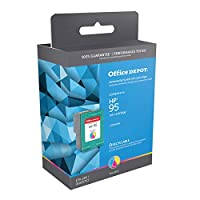 Office Depot OD295A (HP 95) Remanufactured Tricolor Ink Cartridge, OD295A by Office Depot