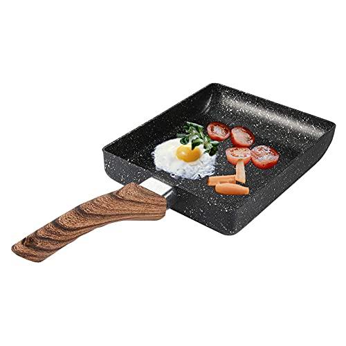 Tamagoyaki-Pfanne, Nonstick Pfannkuchen Eierpfanne, Pfanne - Induktion Japanische pfanne, Omelett Pfanne Viereckig, Tamago Pan Sushi Pfanne