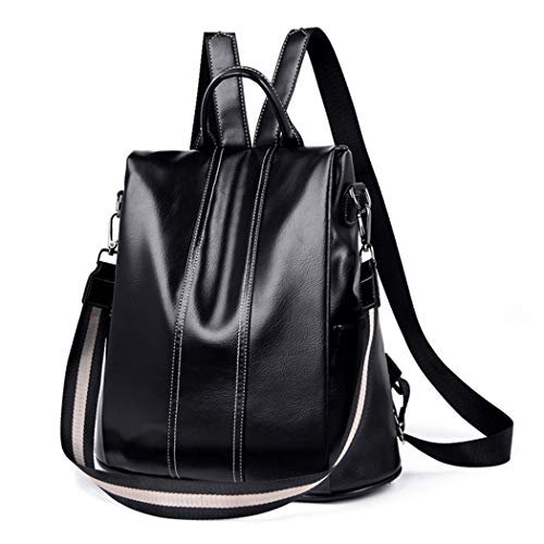 Women Backpack, COOFIT Anti Theft Backpack PU Leather Backpack Ladies Backpack Handbags Shoulder Bag for Ladies Girls 3 Way to Carry