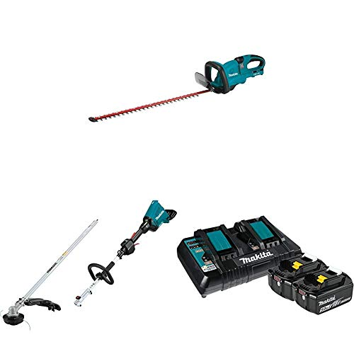 Great Features Of Makita XHU04Z 18-Volt X2 (36V) LXT Lithium-Ion Cordless 25-1/2 inch Hedge Trimmer ...
