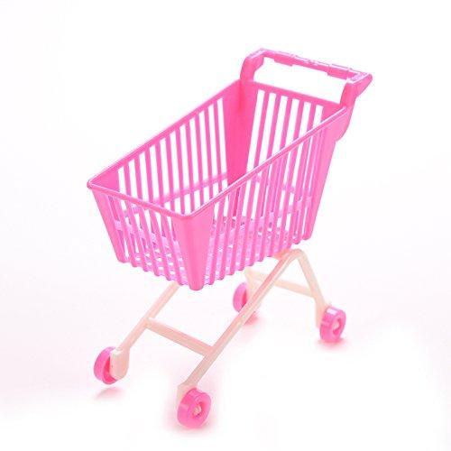 u-hoMEy Poupée Accessoires Plastique Chariot Chariot Jouets pour Barbie