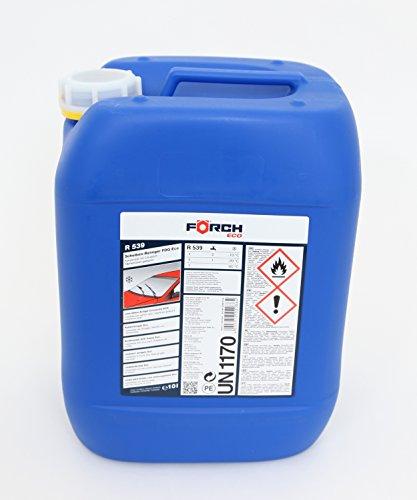 Förch Scheibenreiniger mit Frostschutz R539 AntiFrost 10 Liter bis -60°C Konzentrat