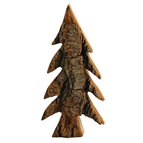 HANTERMANN Deko Tannenbaum | Weihnachtsbaum aus Holz | Holz Deko Weihnachten | Holz Baum | Höhe 15 cm | rustikale Weihnachtsdekoration aus Holz | Made in Germany