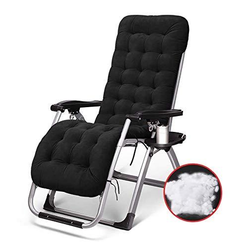 AI LI WEI Home Outdoor/klapstoel buiten buiten terras stoelen Zero Gravity zonnestoel leunstoel strand camping draagbare stoel opvouwbare ligstoel met bekerhouder lichte campingstoel