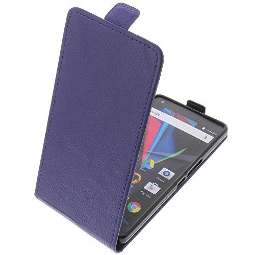 foto-kontor Tasche für Archos Diamond 2 Plus Smartphone Flipstyle Schutz Hülle blau