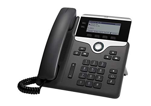 Cisco IP Phone CP-7821-K9 Charcoal,Black