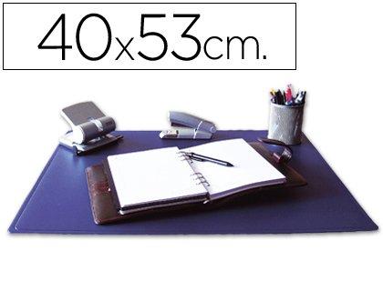 Vade para escritorio sobremesa 40x63 cm - color azul