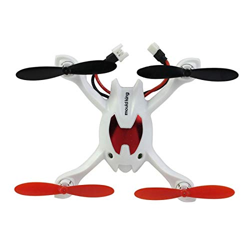 RC speelgoed hobby's Mini 2.4G 4-kanaals 6AXIS Gyro 3D Rolling LCD Remote Control Quad Copter helikopter Aircraft White RC Model