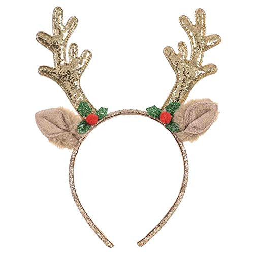 1PC Christmas Decoration Creative Hair Accessories Christmas Adult Children Cute Holiday Headband Head Buckle Dress Up Artificial Handmade Holiday Accessories
