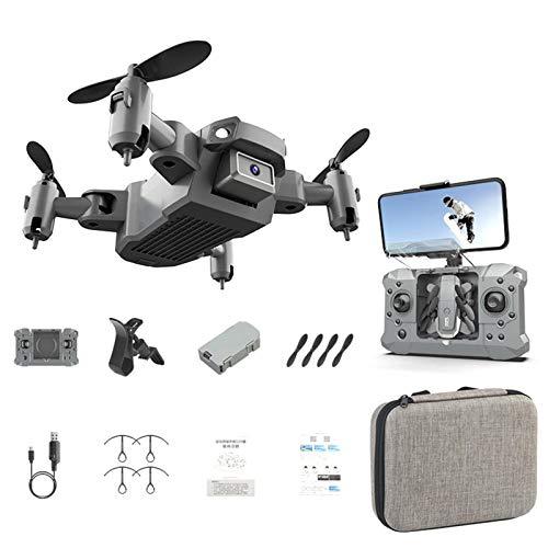 Mini drone pieghevole   Drone giocattolo con controllo remoto del quadricottero con fotocamera 4K Pixel ad alta definizione per principianti, modalità senza testa, mantenimento dell\'altitudine