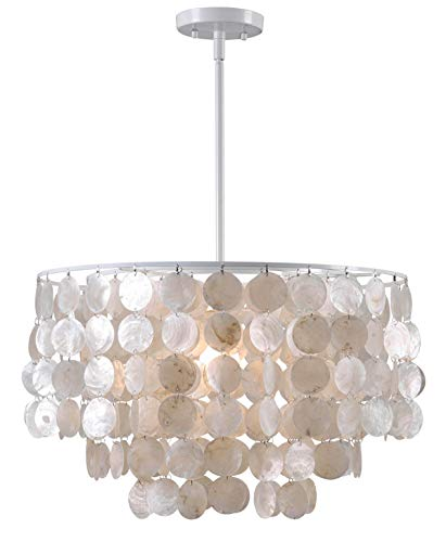 Kenroy Home Casual 1 Light Pendant ,13 Inch Height, 20 Inch...