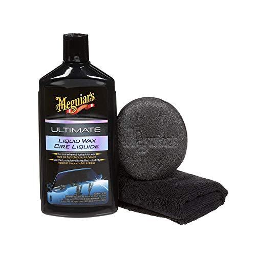 Meguiar's Ultimate Liquid Wax - Synthetic Car Wax - G18216C