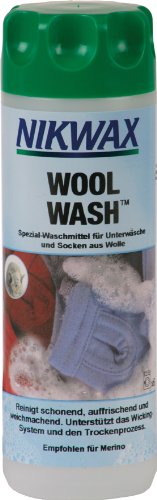 Nikwax wasmiddel Wool Wash VPE6, transparant, 300 ml, 30212