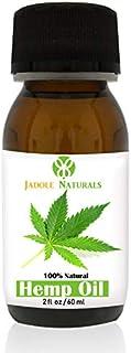 Jadole Naturals Hemp Oil For Hair, 60 ml