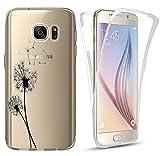 CoverHeld Hülle für Samsung Galaxy A40 Premium Handyhülle 2461 Pusteblume Silikon Fullbody 360 Grad Rundum SchutzHülle Softcase HandyCover Hülle für Samsung Galaxy A40