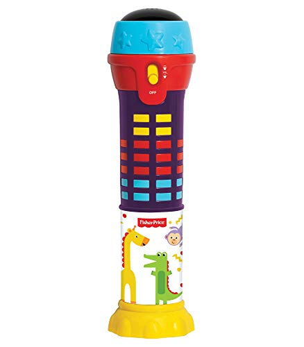 Fisher-Price – Dancing Lights Microphone, Light Up Mic, Kids, Toddler, Ages 2+