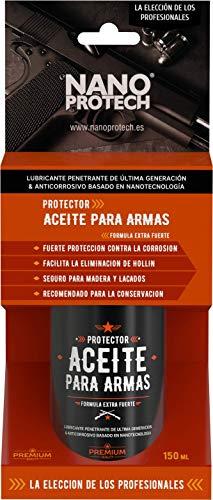 Nanoprotech - Spray Aceite Lubricante para Armas basado en Nanotecnologia 150 Ml