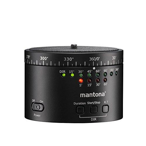 Mantona Turnaround 360 Automatic Rev. 2 - Elektrischer 360° Panorama Stativkopf