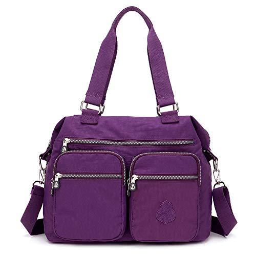 Outreo Bolsos de Moda Mujer Messenger Bag Bolso Bandolera Bolsas...