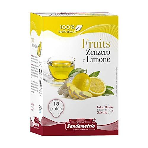 San Demetrio tisana zenzero e limone 36 cialde