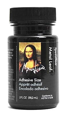 Speedball 10210 Mona Lisa 2-Ounce Metal Leaf Adhesive Size (Pack of 3)