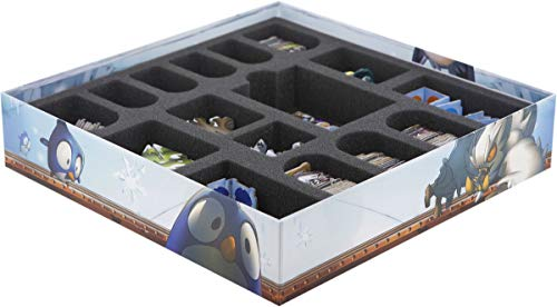 Feldherr Foam Tray Set Compatible with Krosmaster: Arena - Frigost Board Game Box