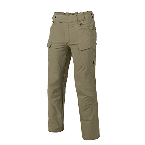 Helikon Hommes Outdoor Tactique Pantalon Adaptatif Vert Taille M Long