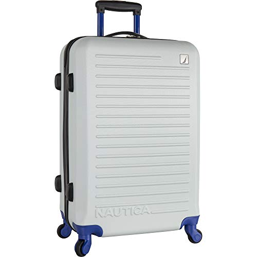 Nautica Luggage, GREY/BLUE, 20
