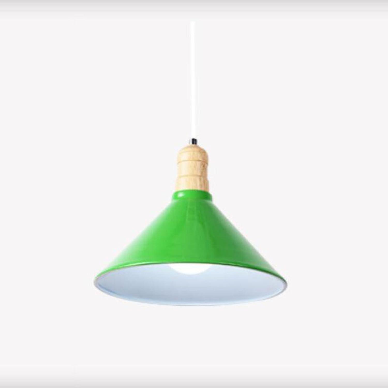 Aluminium massivholz kronleuchter loft nordischen schatten einfache kronleuchter bar gegenzimmer schlafzimmer tischlampe designer persnlichkeit (farbe  grün, gre  23  30 cm)