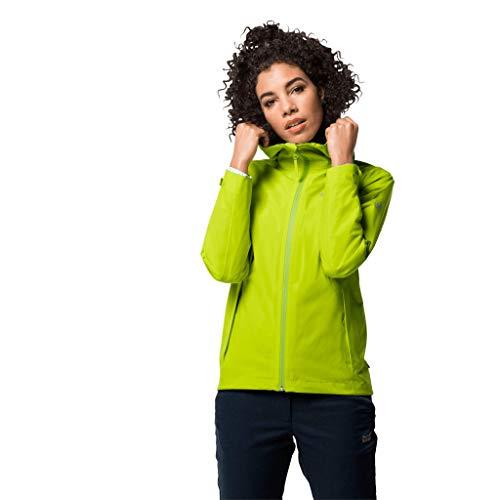 Jack Wolfskin Damen Jwp Shell Bright Lime XL