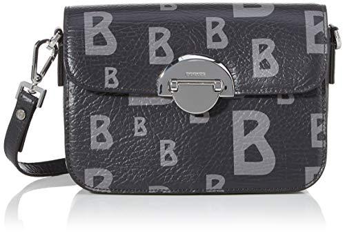 Bogner Damen Schultertasche Arosa Paula in Lederoptik Handtasche mit Überschlag