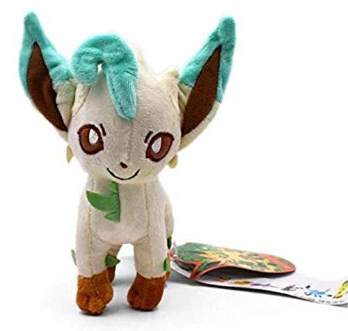 Eevee Leafeon Knuffel Gevulde Peluche-speelgoed Poppen Cadeaus voor kinderen van 18-20 cm
