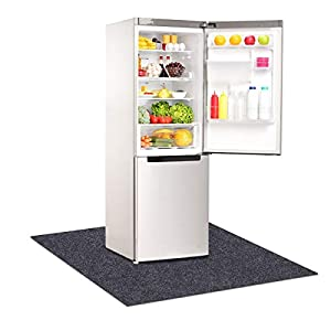 """Refrigerators Mat,Multifunctional home appliance mat—Absorbent/Waterproof,Protect refrigerators and floors, Under Refrigerators Mat,Non-slip Backing,Washable (36"""" x 36"""")"""