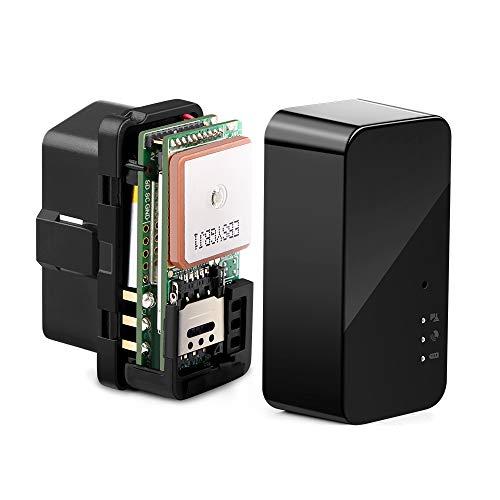 Autopmall Rastreador de Coche OBD GPS Tracker No Mes Tarifa en Tiempo...