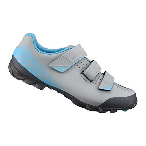 SHIMANO SHME2PG440SG00 - Zapatillas Ciclismo, 44, Azul, Hombre