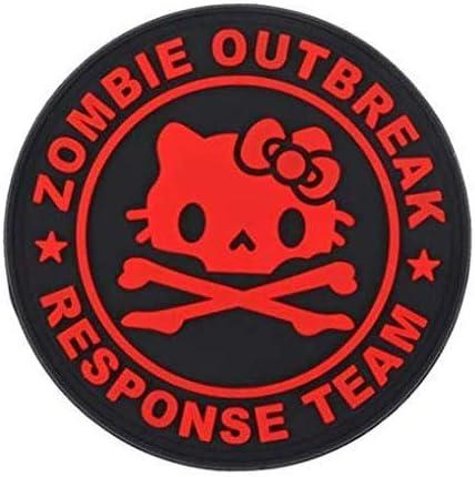 Special Ops Gear Morale Patch PVC Zombie Outbreak Team Kitty SWAT
