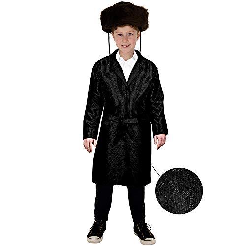 Dress Up America Disfraz de Rabino Judo Purim Bekitcha con Colores mltiples para nios, Multicolor, talla 4-6 aos (cintura: 71-76, altura: 99-114 cm) para Hombre