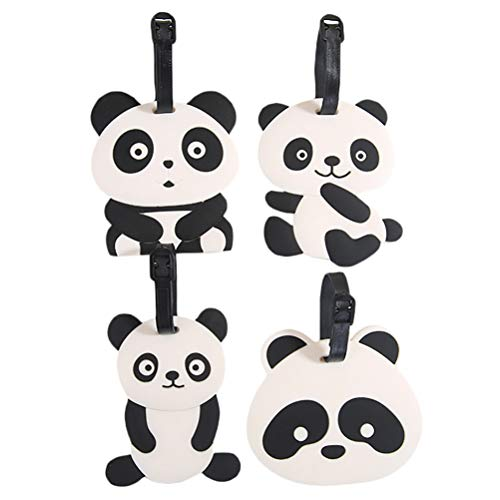 Etiqueta Para Equipaje Panda  marca ABOOFAN