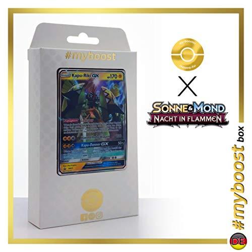 Kapu-Riki-GX (Tokorico-GX) SM33 - #myboost X Sonne & Mond 3 Nacht in Flammen - Coffret de 10 Cartes Pokémon Allemandes