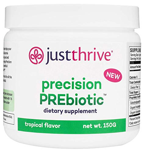 Just Thrive: Precision PREbiotic - Gastrointestinal, Cardiovascular and Immune Support - 30-Day Supply - Supports Probiotic Diversity for Optimal Digestive and Gut Health - Vegetarian, Paleo and Keto