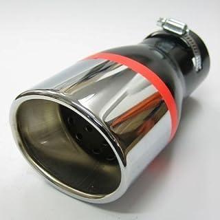 Endrohr Auspuff Blende Auspuffrohr Chrom Auspuffendrohr Universell Schalldampf Endstück Endrohrblende Sportauspuff Optik Tuning 43 57mm