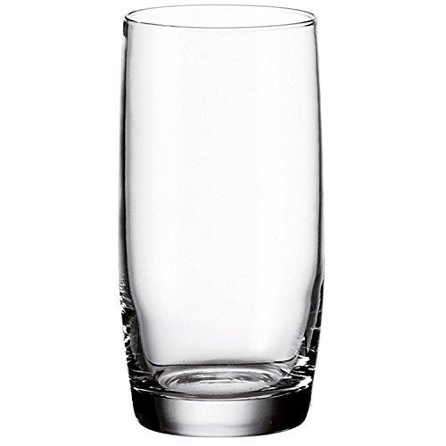 montana selection Trink-Gläser 6er Set, spülmaschinengeeignete Wasser-Gläser, Trink-Becher aus Glas, Saft-Gläser, Getränke-Set, 420 ml, 030166