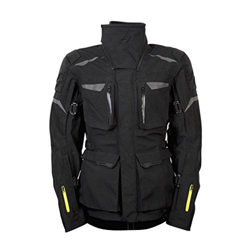 ScorpionExo XDR Yukon Men's Textile Adventure Touring Motorcycle Jacket (Black, Medium)