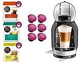 DOLCE GUSTO MINI ME YY3888FD • Cafetera automática 15 bar • Cafetera espresso y otras bebidas + 54 cápsulas (Mini ME • Gris + 54 cápsulas)