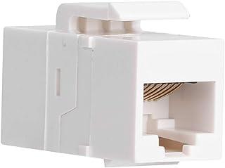 Módulo de red de computadora de componentes electrónicos, módulo de red recto CAT5E, área de trabajo de mejoras para el ho...