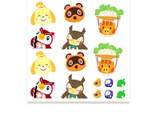 Animal Crossing Sticker Animal Crossing Friends Club Original Doujin Sticker Handbook Animal Crossing Macho Picking Ramas Periférico