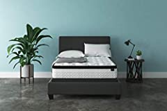 Full size bed in a box: For supportive, dreamy sleeping, this mattress brings it home with comfortable layers; Plus, it comes in a box, so it's easier than ever to get a better night's rest Hybrid mattress: Mattress is designed with gel memory foam, ...