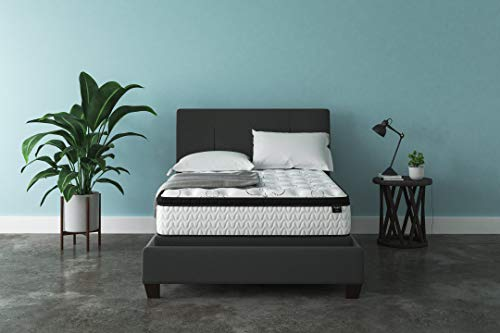 Ashley Furniture Signature Design - 12 Inch Chime Express Hybrid Innerspring - Firm Mattress - Bed in a Box - Full - White